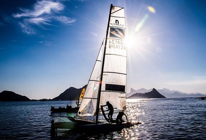 Vela  Evento Teste Rio 2016 (Foto: Divulgação )