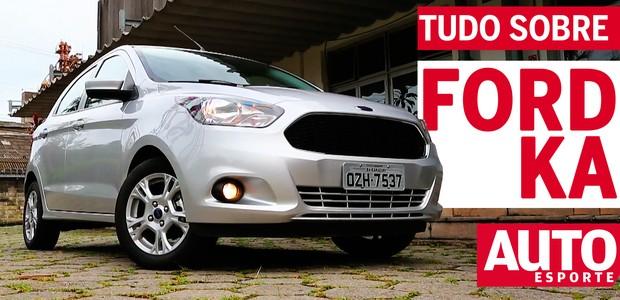 Tudo sobre: Ford Ka 2015 (Foto: Ford)