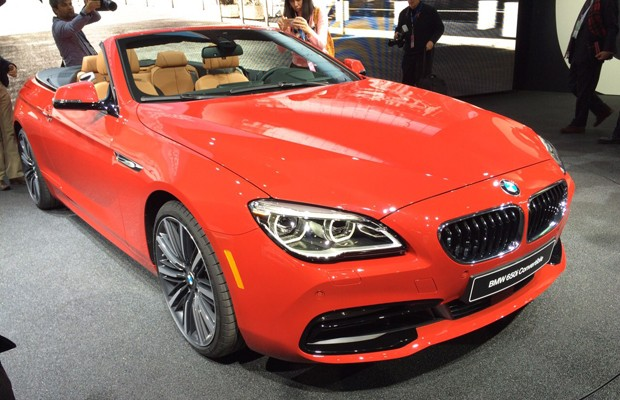 Salão de Detroit: BMW apresenta nova linha Série 6, prevista para o Brasil