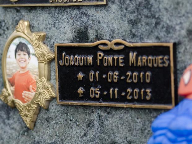 Morte do menino Joaquim Ponte Marques completa 1 ano nesta quarta-feira (5) (Foto: Érico Andrade/G1)