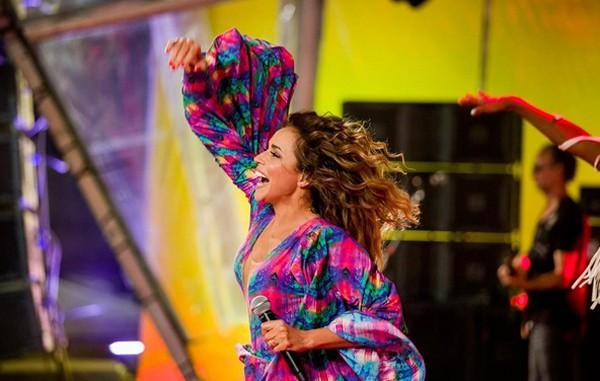 Daniela Mercury será uma das principais atrações em São Paulo  (Foto: Reprodução / Instagram / Celia Santos)
