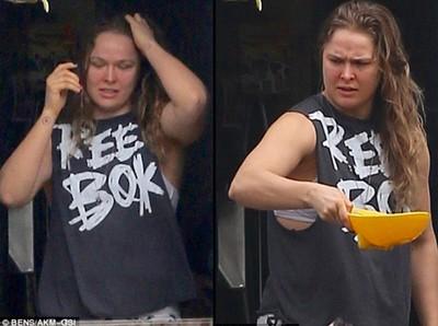 Ronda Rousey (Foto: Reprodução Daily Mail)