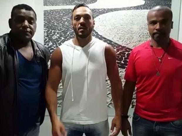 Luiz Carlos, Belo e Alexandre Pires (Foto: Instagram/ Reprodução)