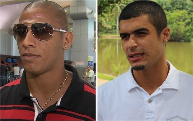 Uelliton e Egídio são confirmados como reforços do Cruzeiro (Foto: Arte / Globoesporte.com)