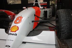 Réplica da McLaren feia para o desfile da Unidos da Tijuca (Foto: divulgação)