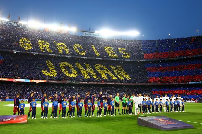 Mosaico Johan Cruyff Barcelona Real Madrid (Foto: Getty images)