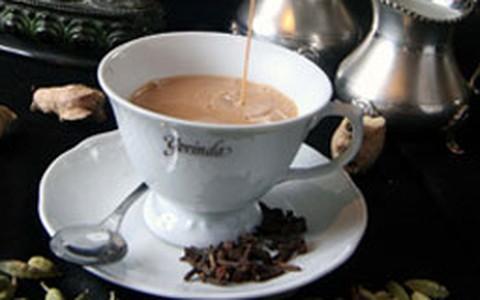 Chá de gengibre à moda indiana