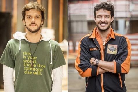 Jayme Matarazzo e Nando Rodrigues (Foto: TV Globo)