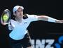 """Murray resiste a """"saque mais rápido do mundo"""" e avança na Austrália"""