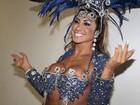 Famosas gravam vinhetas para o carnaval 2012 em São Paulo