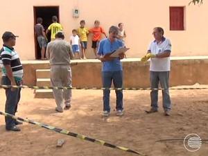 Técnicos do Ministério da Saúde estiveram na região de Picos coletando dados de seres humanos  (Foto: Reprodução/TV Clube)