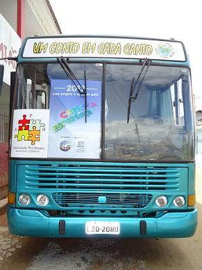 Associação Pró-Brejaru ônibus (Foto: divulgação)
