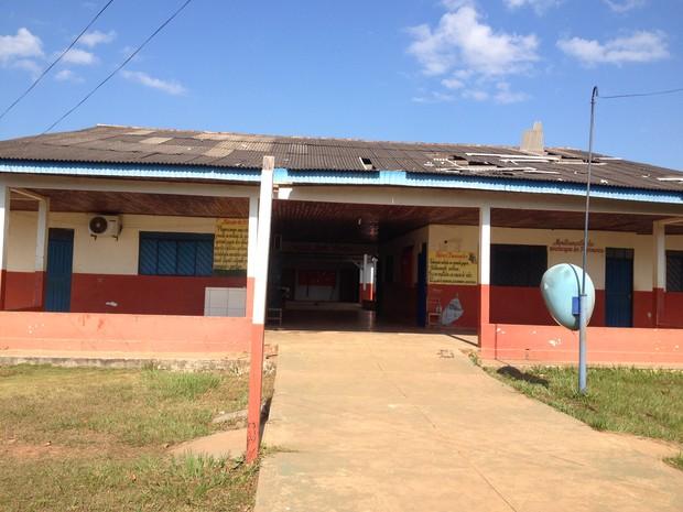 Na Escola Municipal Jesus Perez, obras devem iniciar ainda neste mês, segundo a Semed (Foto: Júnior Freitas)