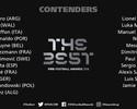 CR7, Messi, Neymar... Fifa anuncia os 23 candidatos a melhor do mundo