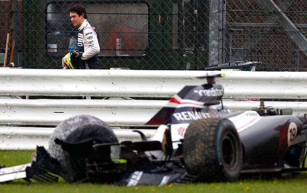 bruno senna williams gp da Inglaterra (Foto: Agência Reuters)