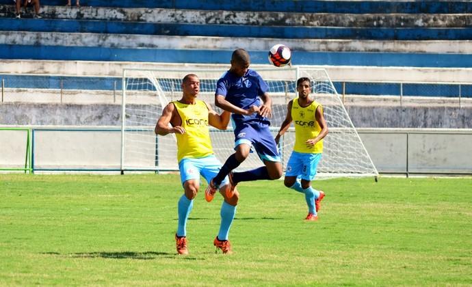 Taubaté x Resende jogo-treino (Foto: Danilo Sardinha/GloboEsporte.com)