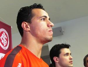 Leandro Damião centroavante Inter (Foto: Tomás Hammes / GLOBOESPORTE.COM)