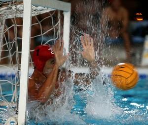 Thyê Mattos Paulistano x Sesi-SP Liga Nacional de polo aquático (Foto: Satiro Sodré / SSPress)