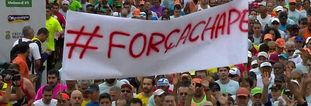 Primeiro evento do Verão Espetacular tem um minuto de silêncio às vítimas do acidente aéreo  (Felipe Oliveira / Divulgação / E.C. Bahia)