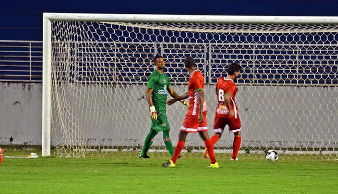 Bruno e Radamés Boa Esporte (Foto: Régis Melo)