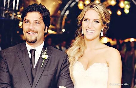 No casamento com Giovanna Ewbank, em 2010 Divulgação