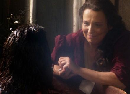 Emília deixa Bernardo atônito com revelação