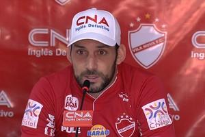 Frontini espera bom público nos jogos do fim de semana (Foto: Reprodução / TV Anhanguera)