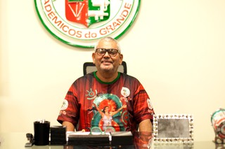 Jayder Soares Presidente da Grande Rio (Foto: Anderson Barros / EGO)