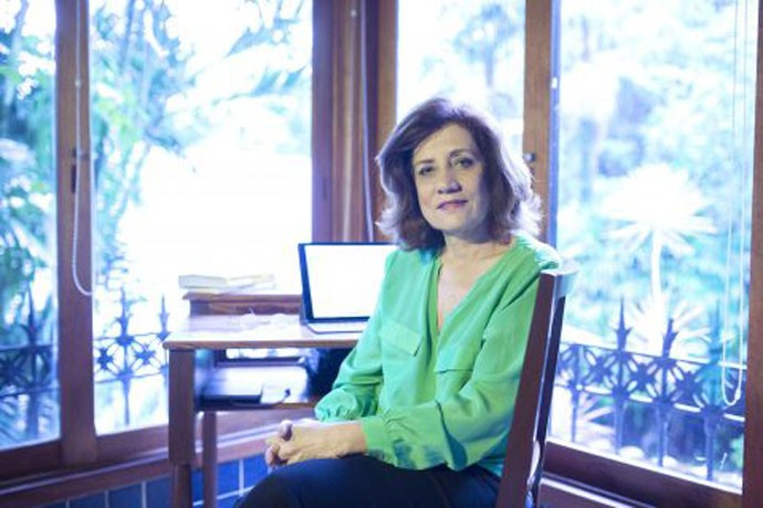 A jornalista e escritora Miriam Leitão
