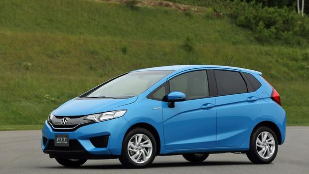 FOTOS: nova geração do Honda Fit