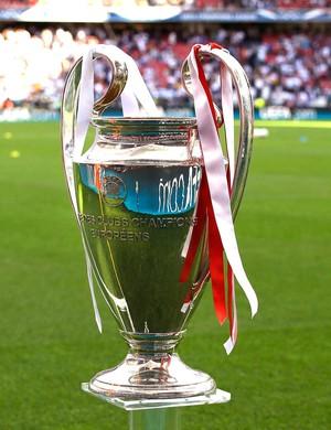 Taça Liga dos campeões Estádio da Luz (Foto: Agência AP)