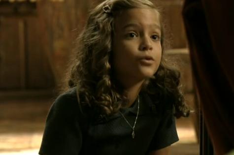 Mel Maia é Pérola em 'Joia rara' (Foto: Reprodução)