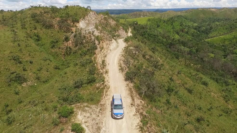 Equipe do Terra da Gente vai atrás de um sonho: filmar a onça-preta livre na natureza (Foto: Marcelo Moraes/ TG)
