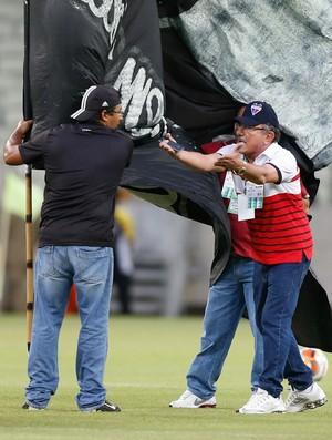 Ceará x Fortaleza Campeonato Cearense Arena Castelão Jorge Mota torcedor (Foto: JL Rosa/Agência Diário)