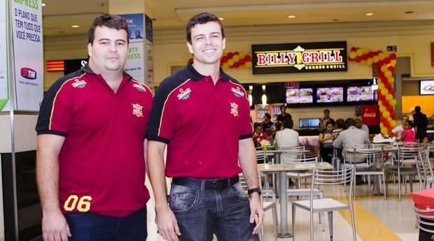 Luiz Sérgio e Luiz Felipe Costa, do Billy The Grill e do Vizinhando (Foto: Divulgação)