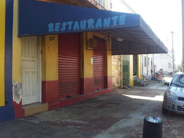 Restaurante foi assaltado pela 9ª vez em Piracicaba (Foto: Luiz Felipe Leite/G1)