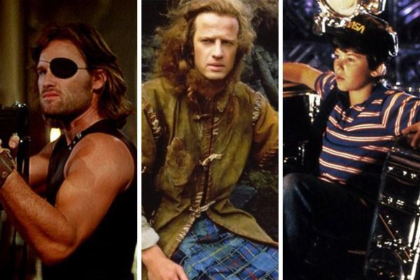 'Fuga de Nova York' (1981), 'Highlander - O Guerreiro Imortal' (1986) e 'O Voo do Navegador' (1986) são alguns dos filmes que ganharão remakes (Foto: Reprodução)