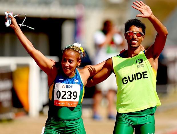 Terezinha Guilhermina atletismo paralímpico França (Foto: Getty Images)