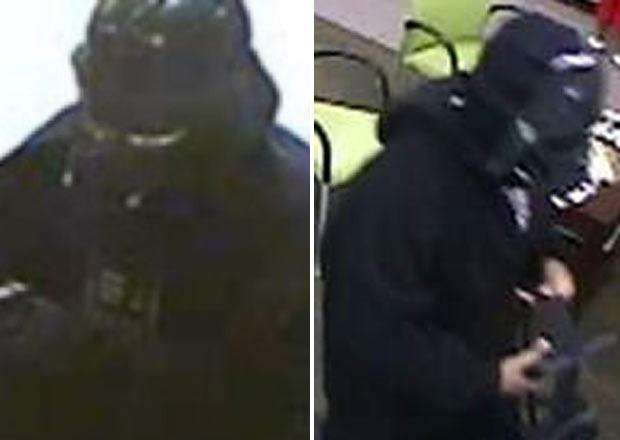 Homem roubou um banco em Toledo usando uma máscara de Darth Vader. (Foto: Divulgação)