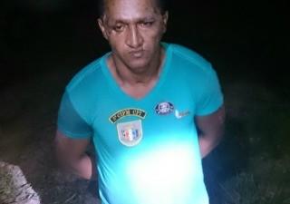 Evandro Soares da Rocha, de 31 anos, foi preso em ação da Força Tática de Rorainópolis, Guarnições de Caroebe, São João da Baliza  (Foto: Divulgação/Polícia Militar)