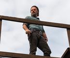 Andrew Lincoln em cena como Rick no final da sétima temporada de 'The walking dead'   Gene Page/AMC