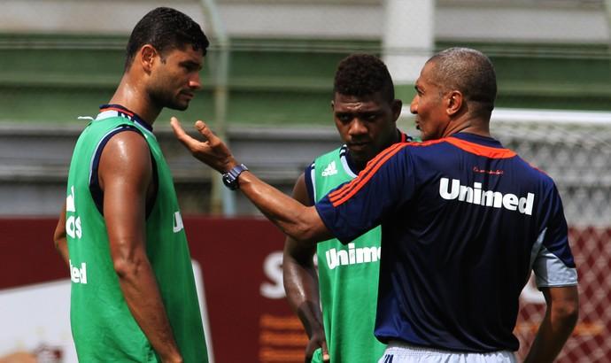 Gum e Elivelton Fluminense (Foto: Nelson Perez/Fluminense F.C.)