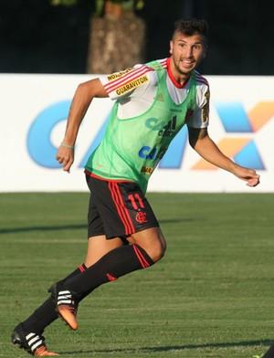 Lucas Mugni Flamengo (Foto: Gilvan de Souza / Flamengo)