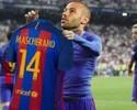 """Depois de gols contra Osasuna, Gomes e Mascherano viram """"memes"""" na Espanha"""