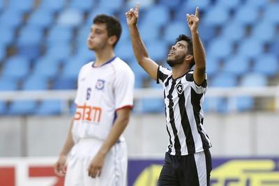 Leandro Botafogo x Friburguense OPG (Foto: Vitor Silva/SSPress/Botafogo)