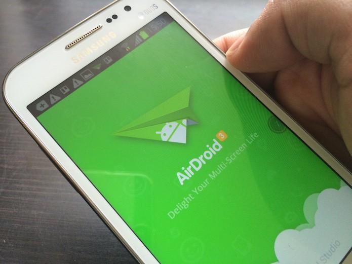 Como enviar arquivos do Android para o Mac com o AirDroid? (Foto: Marvin Costa/TechTudo)