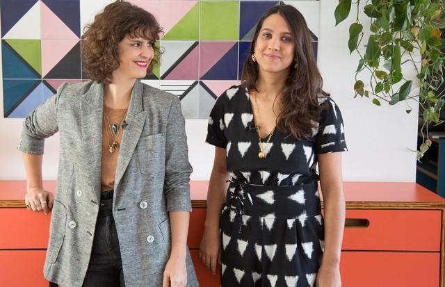 Ana Strumpf e Ana Carranca (Foto: Rafael Avancini)