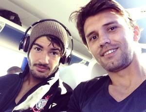 Pato e Paulo andré (Foto: Reprodução / Instagram)