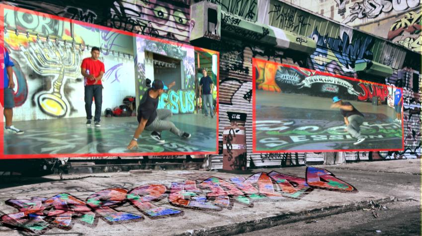 Movimento Urbanos, um projeto sócio-cultural de Boa Vista-RR, na área da cultura Hip-Hop (Foto: Zappeando)