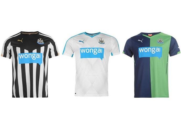 Camisas Newcastle